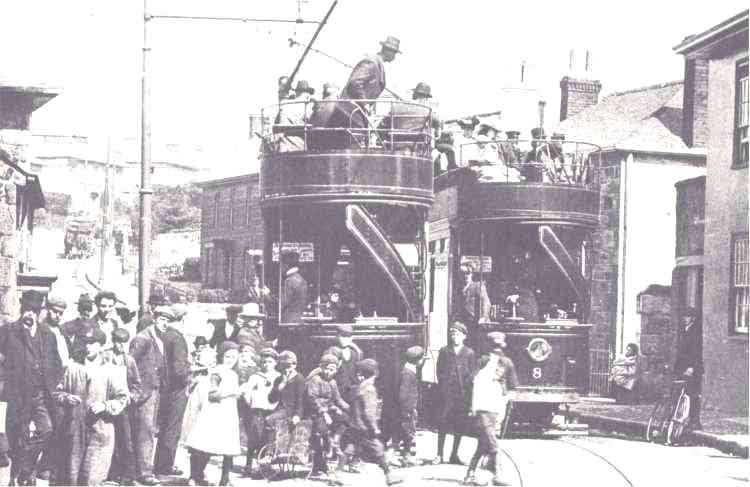 Camborne Amp Redruth Light Railways Tramway
